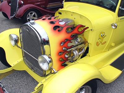 Flamed Fan Shroud