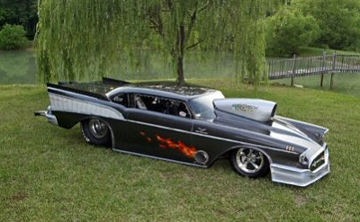 Custom Hot Rod Couch