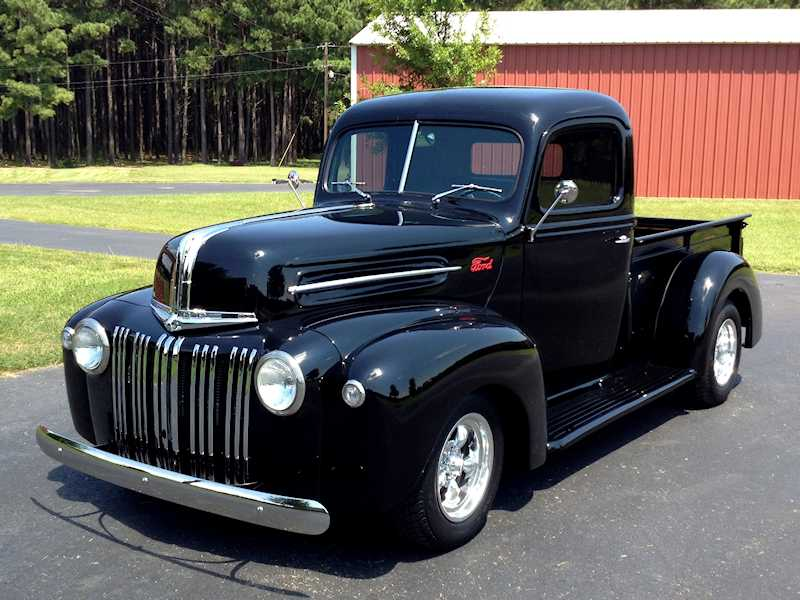 1947 Ford Pickup Truck After 1963 ford f100 wiring diagram 17 on 1963 ford f100 wiring diagram