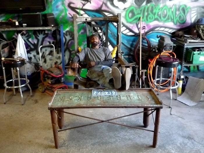 Classic Man Cave Furniture : Vehicular furnishings and automotive decor roadkill customs