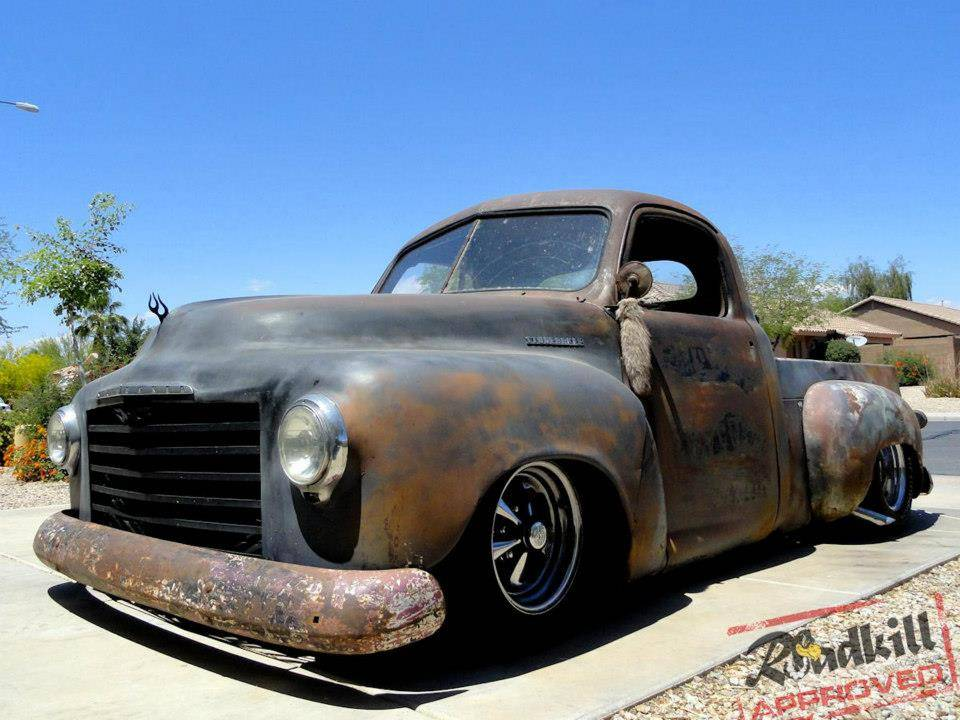 1949 Studebaker Pick Up Hot Rods http://www.roadkillcustoms.com/