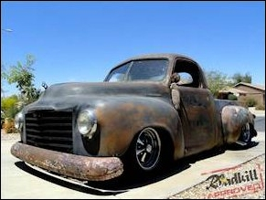 The Roadkill Shop Truck - 1949 Studebaker 2R5