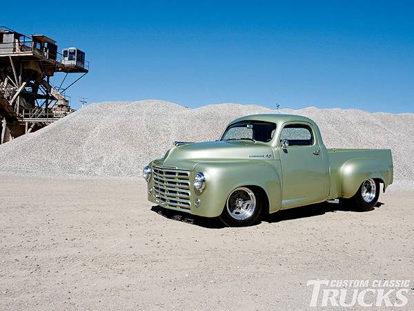 1949 Studebaker Pick Up Hot Rods http://www.roadkillcustoms.com/Hot-Rods-Rat-Rods/photo-browser.asp?x=16&next=1948%20Studebaker%20Pickup%20M5.jpg&gallery=Studebaker%20Trucks
