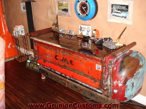 Photo gallery vehicular furnishings and automotive decor Custom furniture made car parts