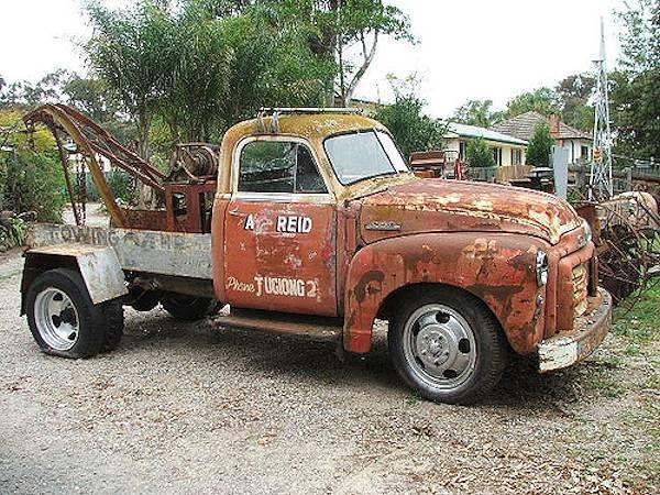vintage tow truck - wrecker eBay