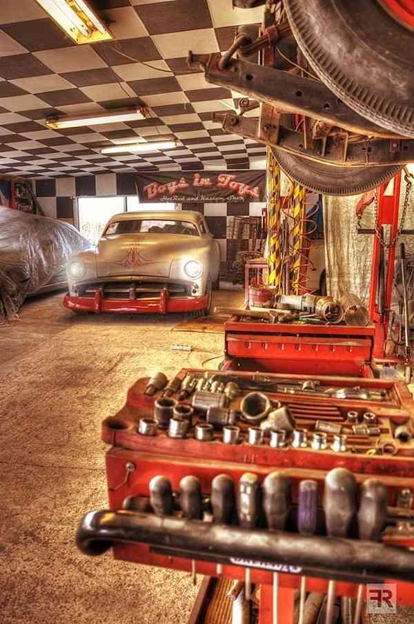 Hot Rod Garage Ideas : Photo gallery workspace ideas