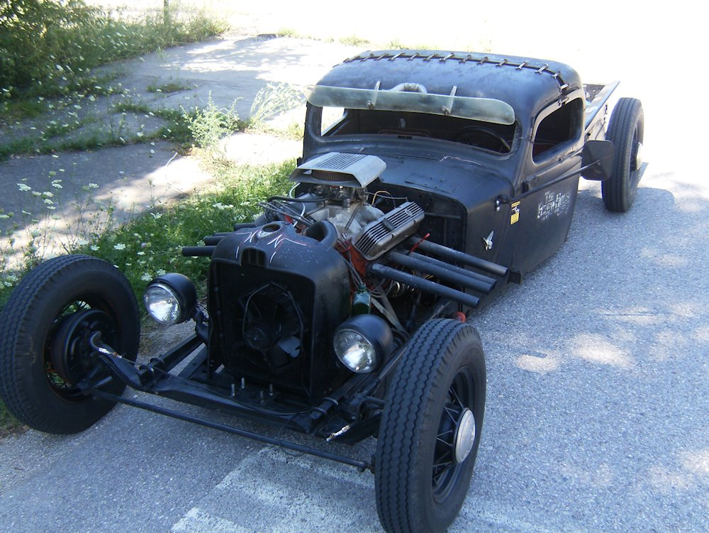 Old Rat Rod Trucks