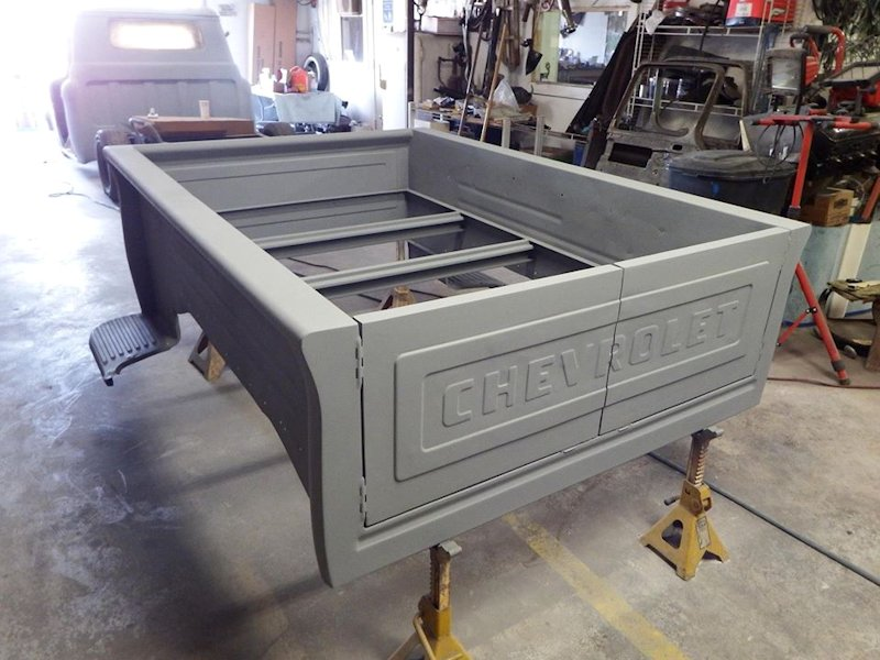 Projects 1955 Chevy Pickup Bed Barn Door Tailgate The