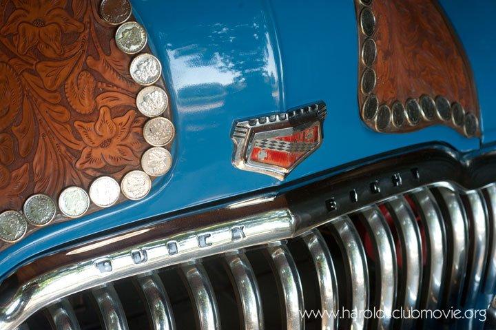 "The Reno Harold's Club 1949 ""Silver Dollar"" Buick Woody Wagon"