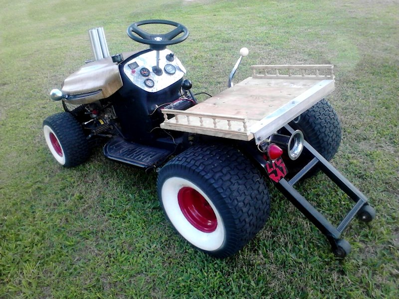 Rat Rod Lawn Mower