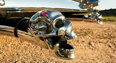 Skull Exhaust Tips