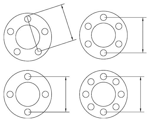 ford ranger wheel interchange