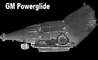 CHEVROLETALUMINUM POWERGLIDE Transmission